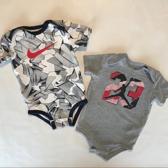 726ba5557c Nike One Pieces | And Jumpman 23 Bodysuit Set Size 912 Months | Poshmark